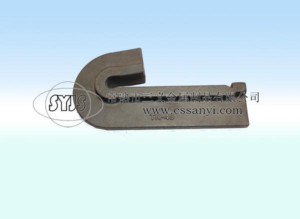 镰刀型防爬器