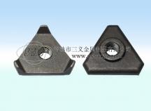 异型三角螺母